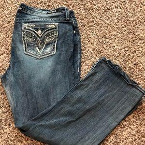 Vigoss Jeans - Vigoss jeans size 20 length 33
